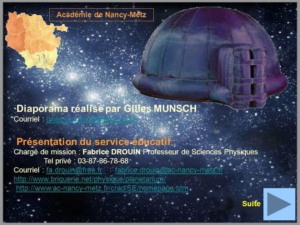 Académie de Nancy-Metz ·Diaporama réalisé par Gilles MUNSCH Courriel : gilles.munsch@libertysurf.frgilles.munsch@libertysurf.fr Présentation du servic
