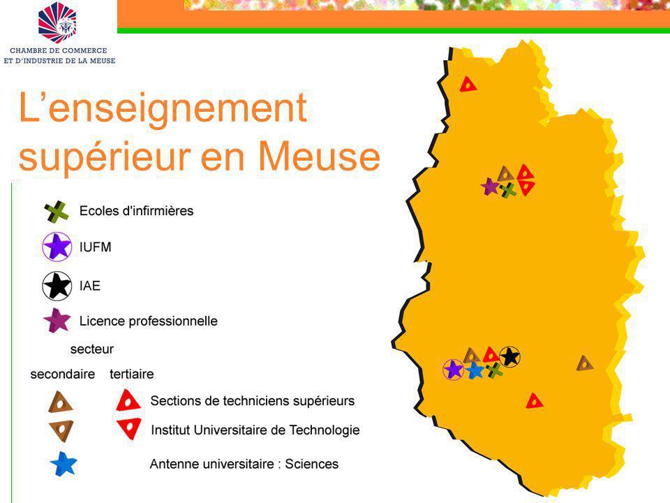 21 Lenseignement supérieur en Meuse