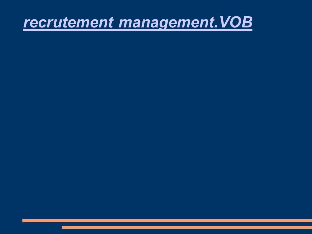 recrutement management.VOB