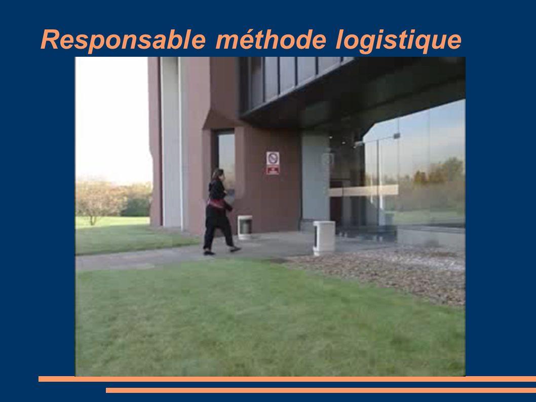 Responsable méthode logistique