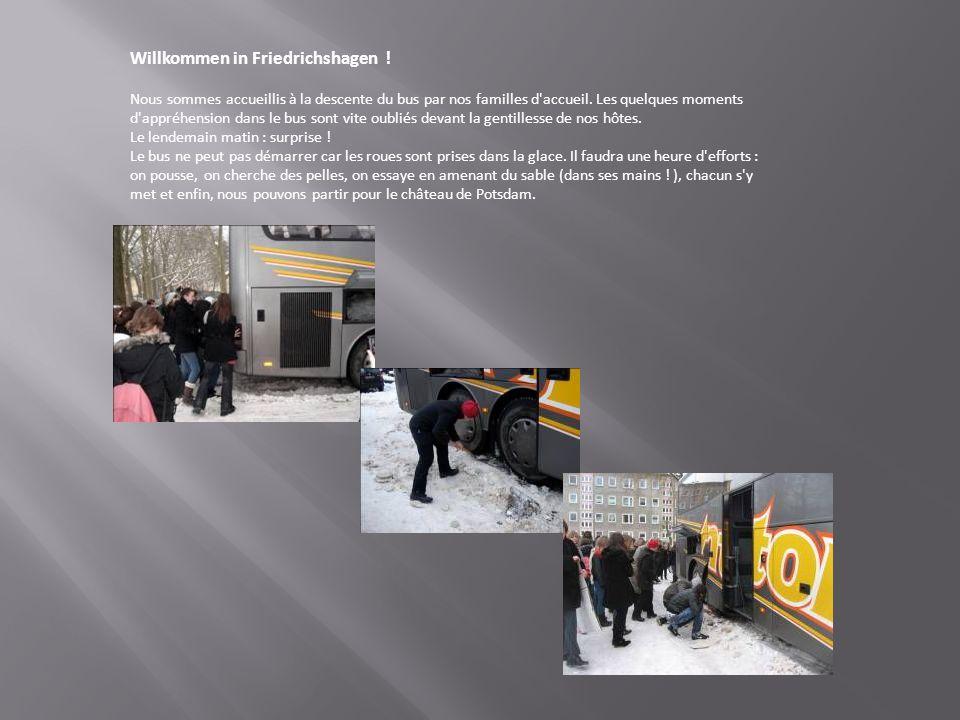 Willkommen in Friedrichshagen .