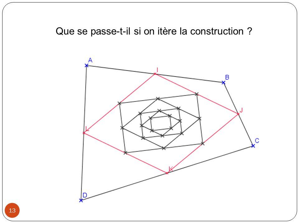 Géométrie et algorithmes Exemple 1: Calculer la longueur dun segment connaissant les coordonnées de ses extrémités 14