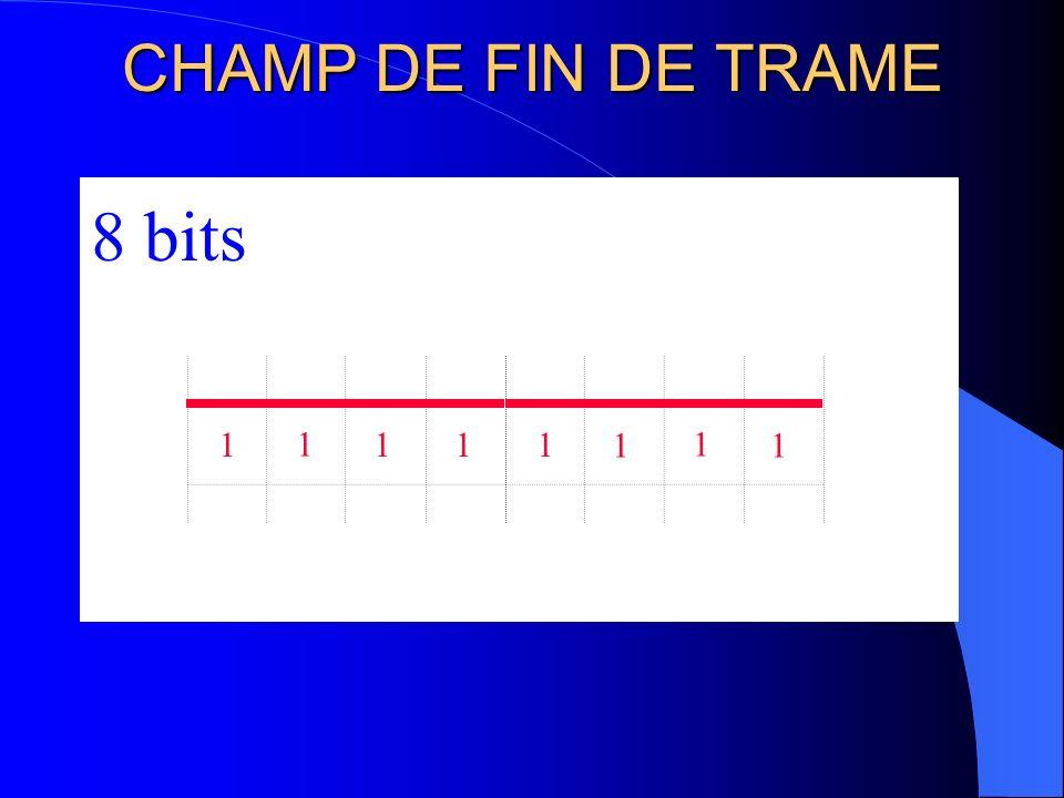 SEPARATEUR DE TRAME 111 1 4 bits