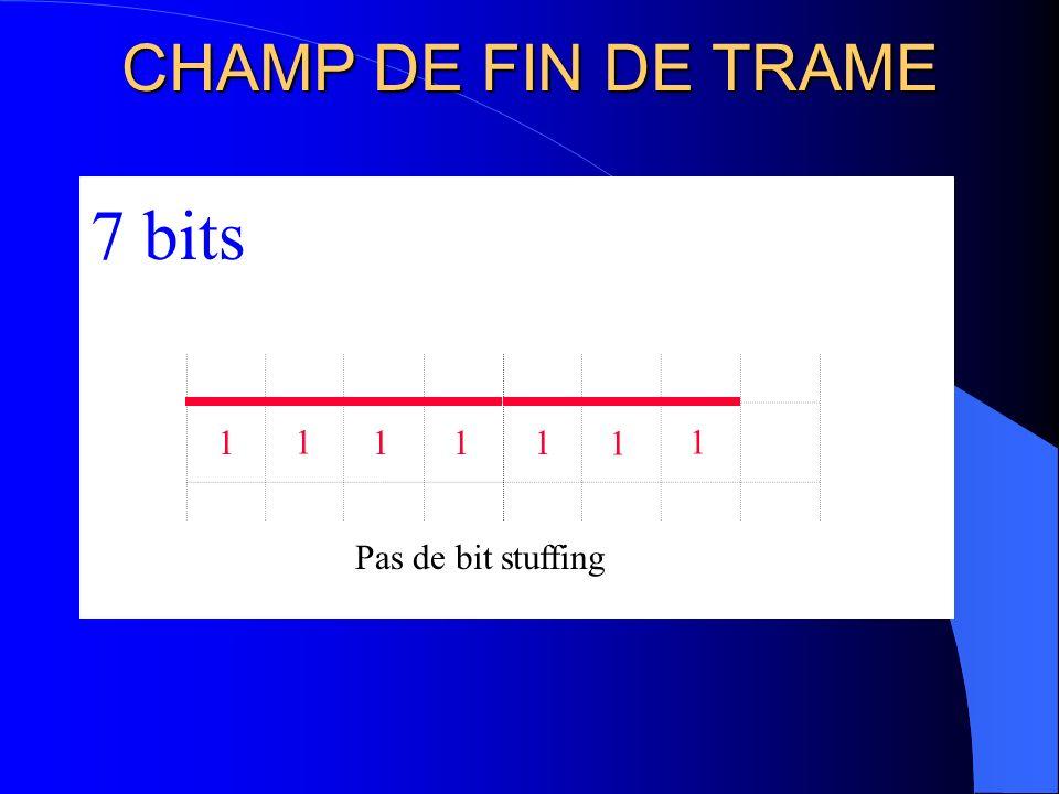 SEPARATEUR DE TRAME 111 3 bits
