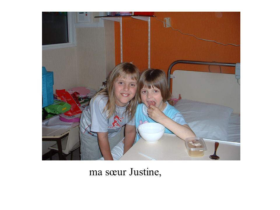 ma sœur Justine,