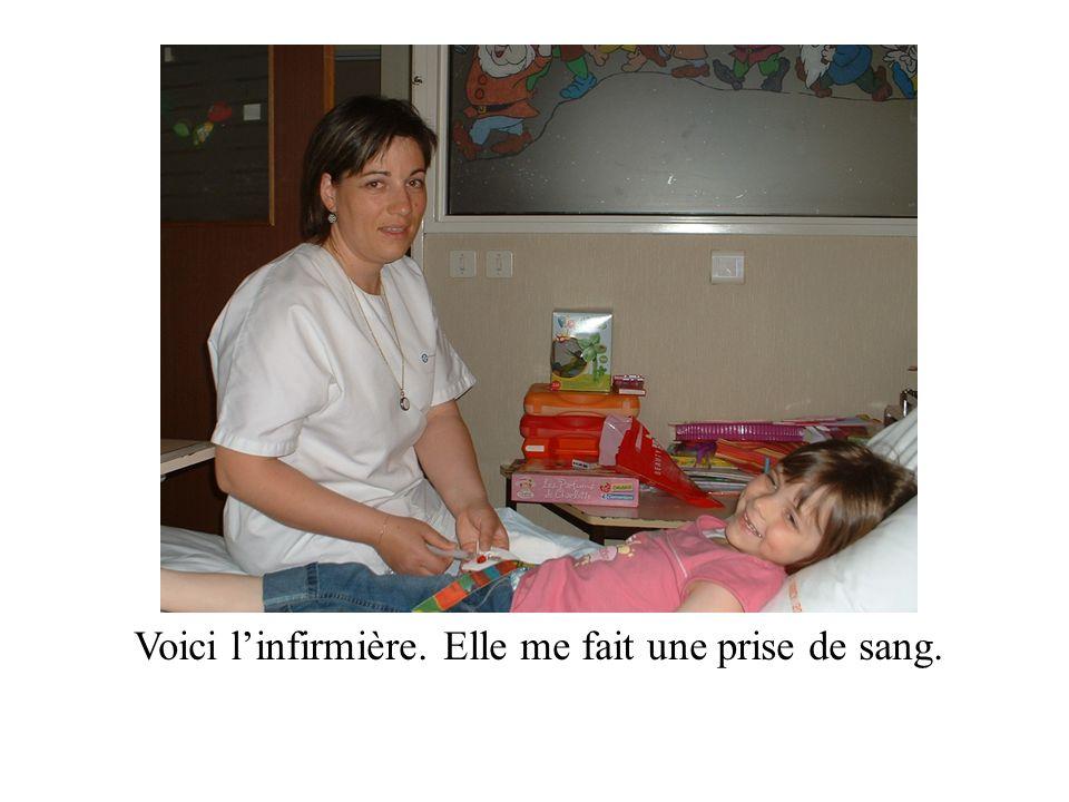 Linfirmière sappelle Anne.