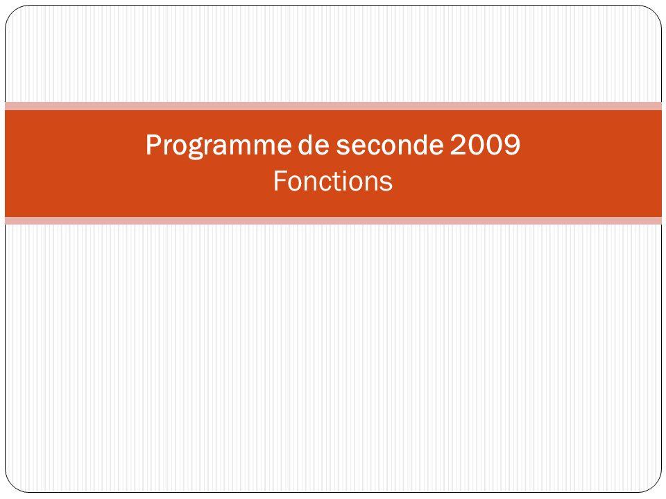 2 Un principe affirmé pour lensemble du programme Progresser dans la maîtrise du calcul algébrique sans recherche de technicité, toujours dans la perspective de résolution de problèmes ou dapprentissage de la démonstration.