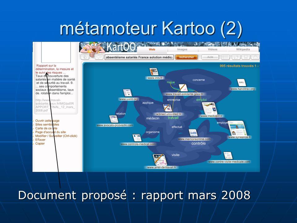 Recherche avec Google (1) Mots clés252 000 réponses Mots clés252 000 réponses