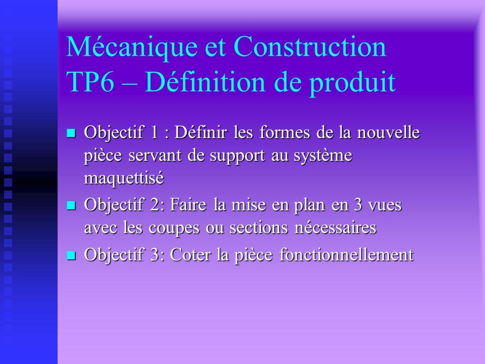 Mécanique et Construction TP5 – Étude dynamique et énergétique du mouvement vibratoire n Objectif 1: déterminer la résultante dynamique dun bourroir p