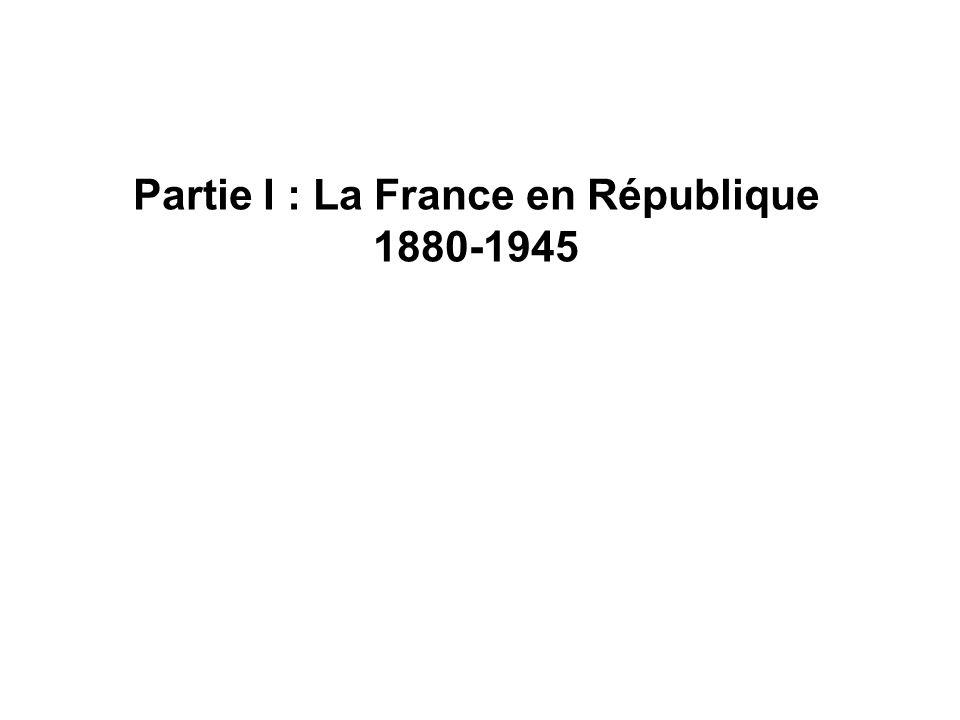 Document 1 : Carte de la France en 1940.