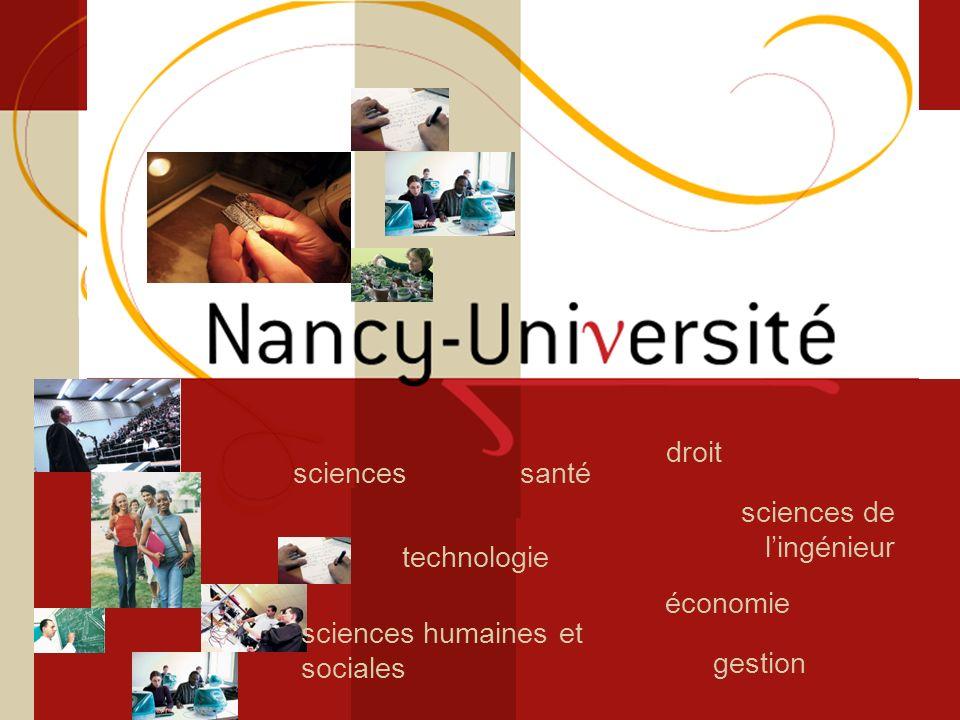Licence sciences et technologie Sciences du Vivant technologie santésciences sciences de lingénieur droit gestion économie sciences humaines et social