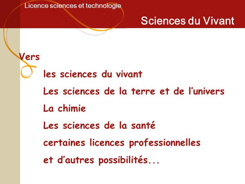 Licence sciences et technologie Sciences du Vivant À léchelle dun écosystème: les phénomènes liés au réchauffement de la planète