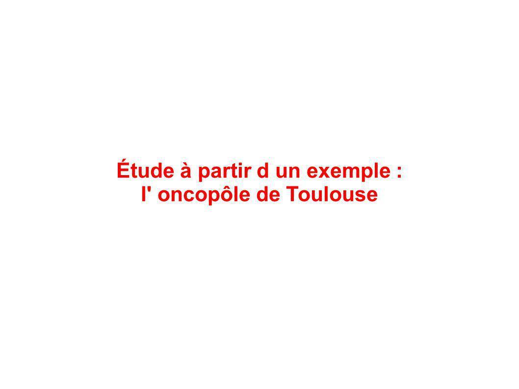 Étude à partir d un exemple : l' oncopôle de Toulouse