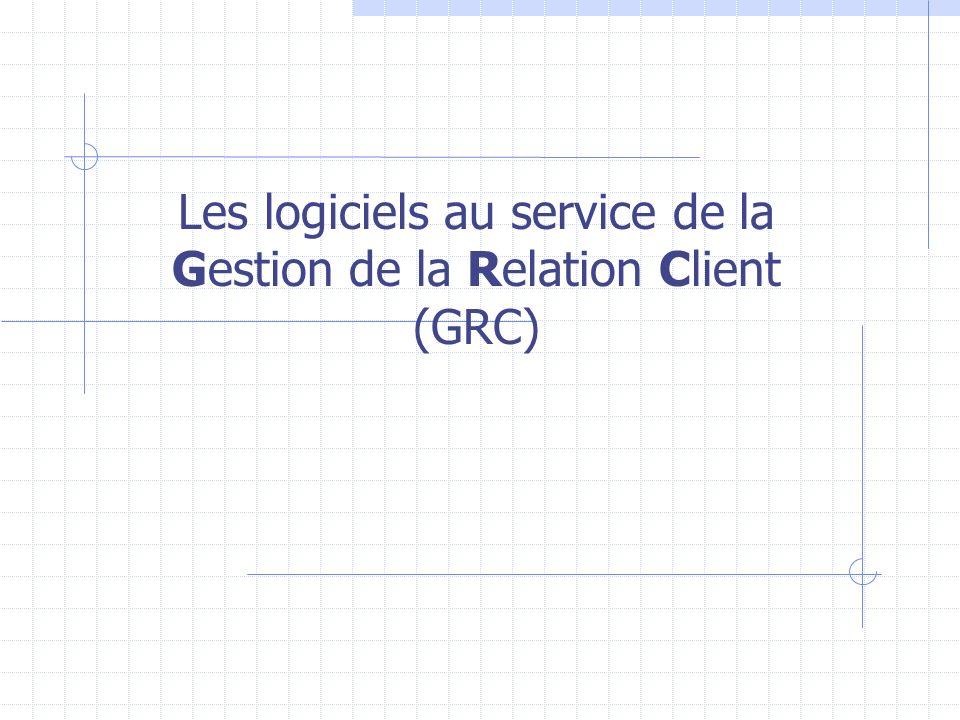 Les logiciels au service de la Gestion de la Relation Client (GRC)