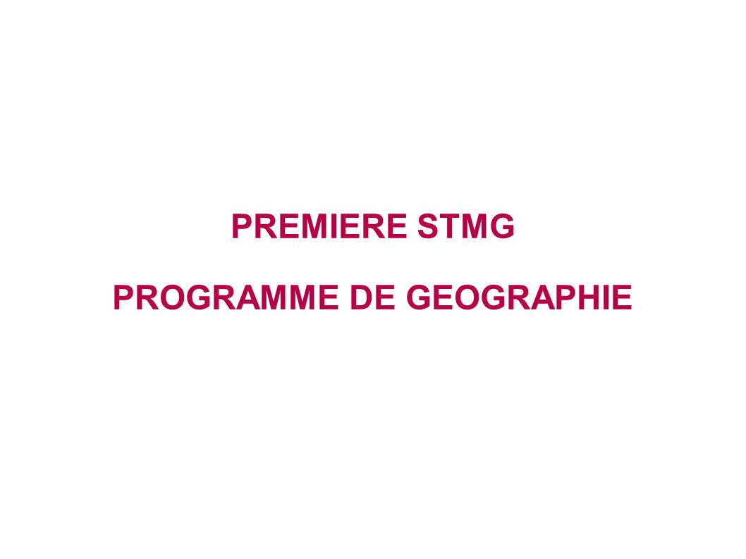 THEME 3 : LA FRANCE : DYNAMIQUE DE LOCALISATION DES ACTIVITES