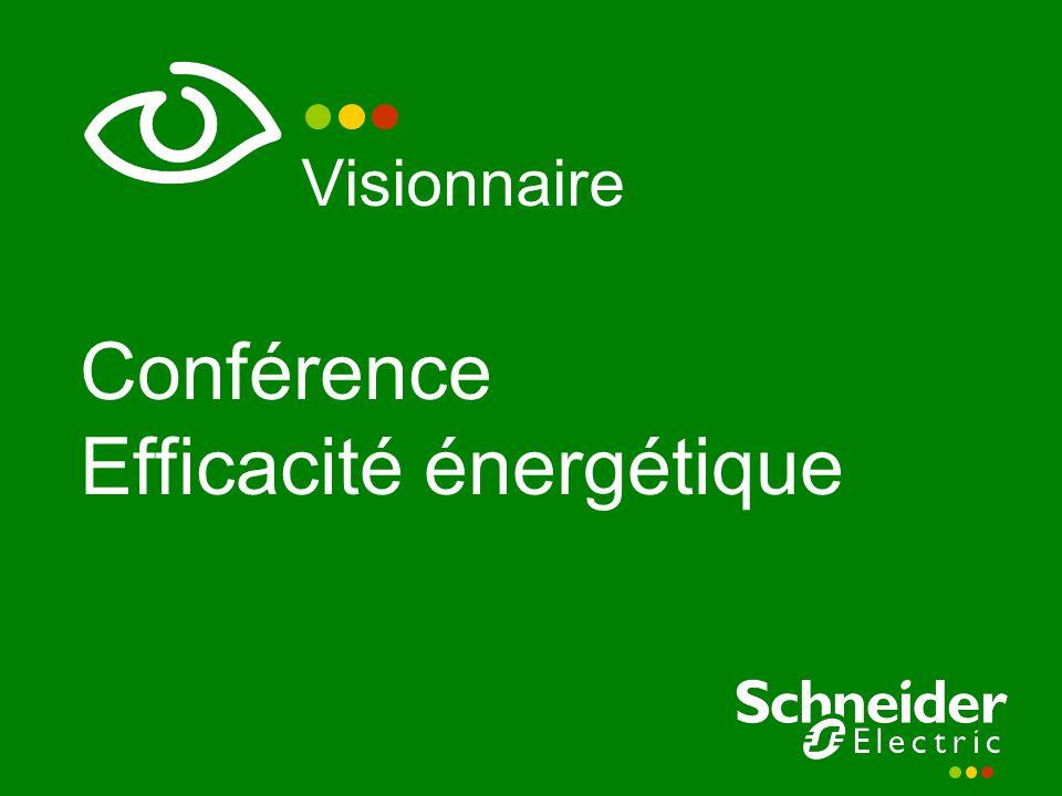 Visionnaire Conférence Efficacité énergétique