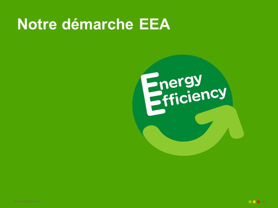 Schneider Electric 10 Notre démarche EEA
