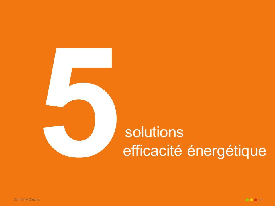 Schneider Electric 18 solutions efficacité énergétique 5