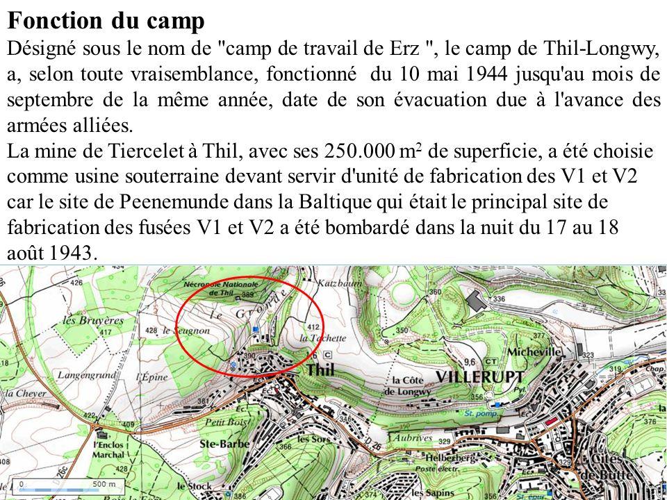 Fonction du camp Désigné sous le nom de