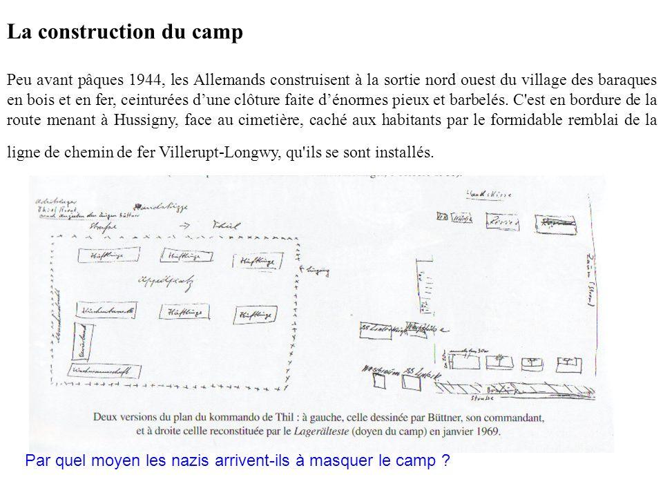 On estime que quelques 800 à 900 déportés sont passés par ce camp.