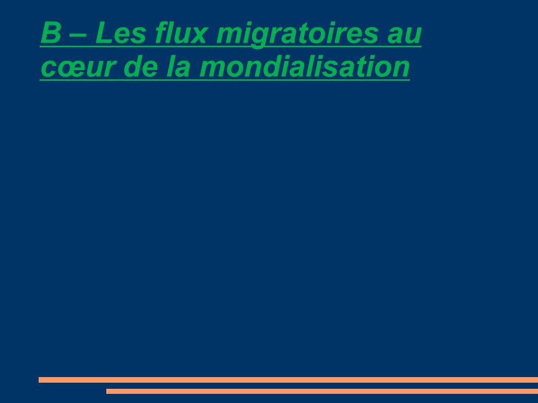 1) En te basant sur lexemple de la Chine, explique quelles peuvent être les motivations des migrations internes .