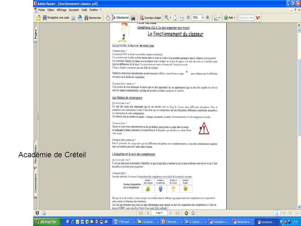 Académie de Créteil
