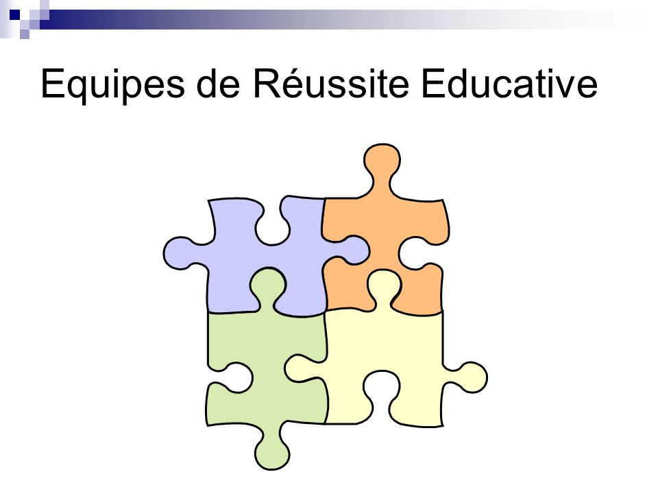 Equipes de Réussite Educative