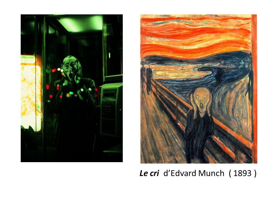 Le cri dEdvard Munch ( 1893 )