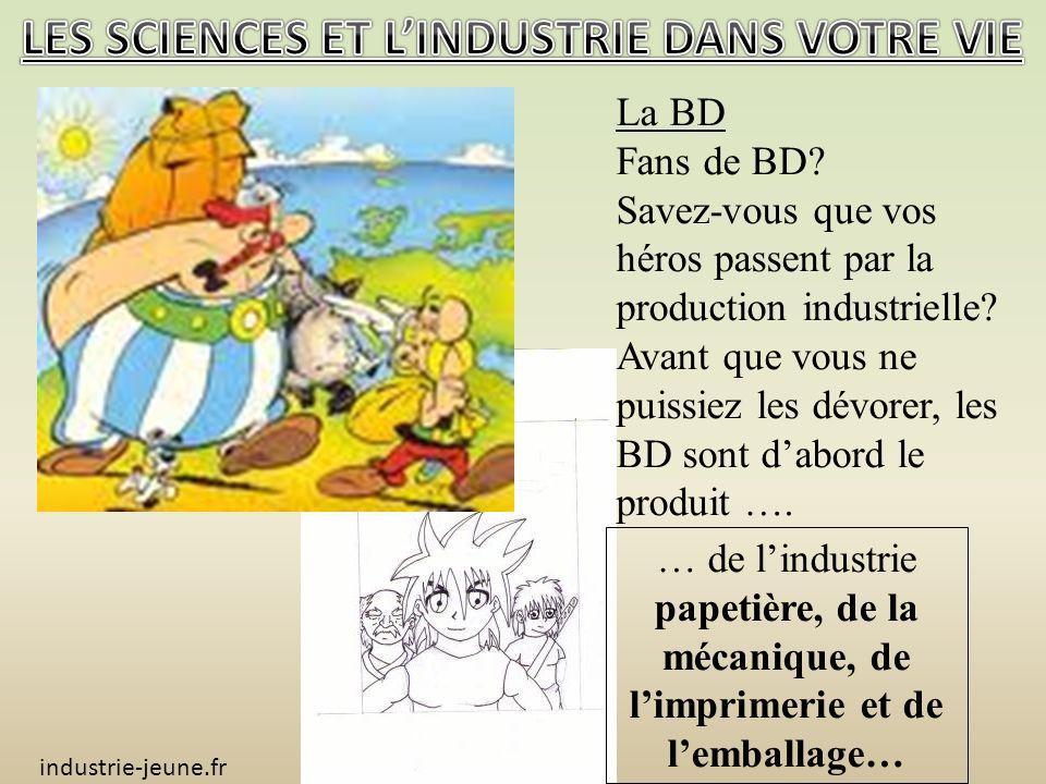 La BD Fans de BD.Savez-vous que vos héros passent par la production industrielle.