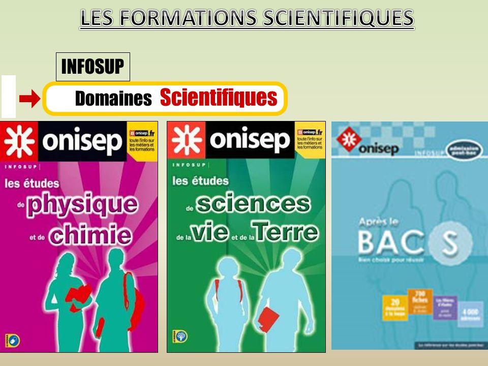 Domaines Scientifiques INFOSUP