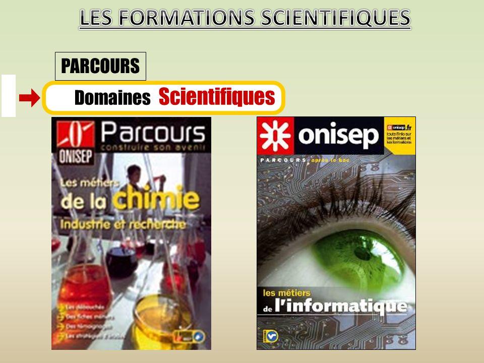 Domaines Scientifiques PARCOURS