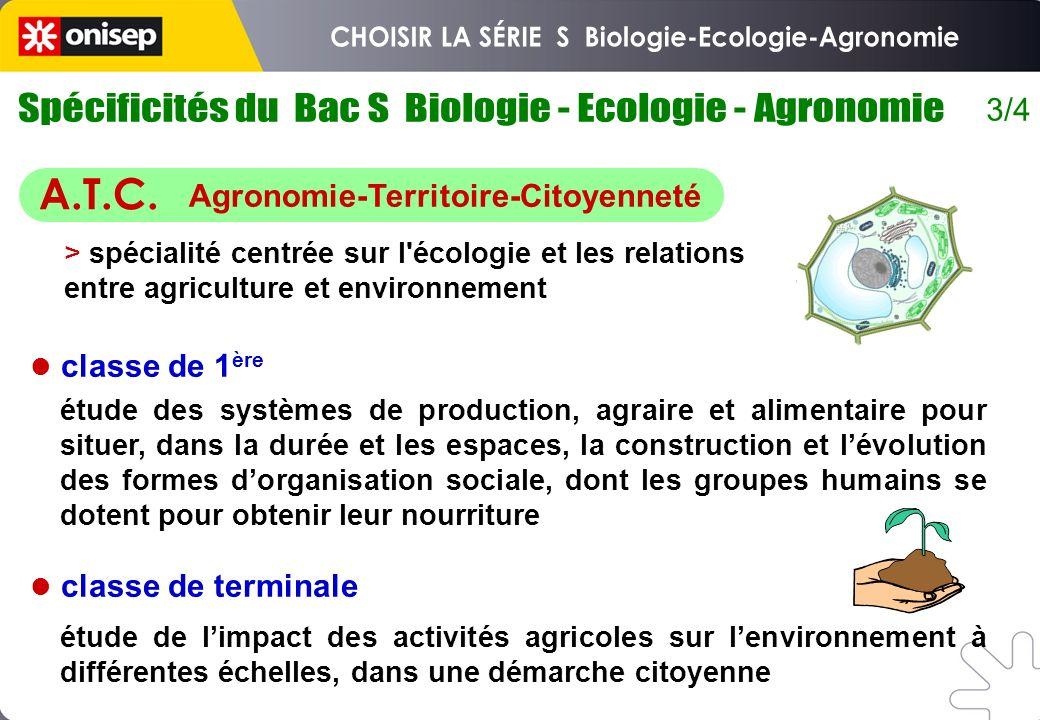 3/4 classe de 1 ère classe de terminale étude des systèmes de production, agraire et alimentaire pour situer, dans la durée et les espaces, la constru