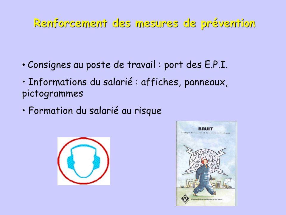 Protection individuelle Plusieurs sortes déquipement de protection individuelle (EPI) : - 5 à - 25 dB Casque anti-bruit Serre-tête anti-bruit Bouchons