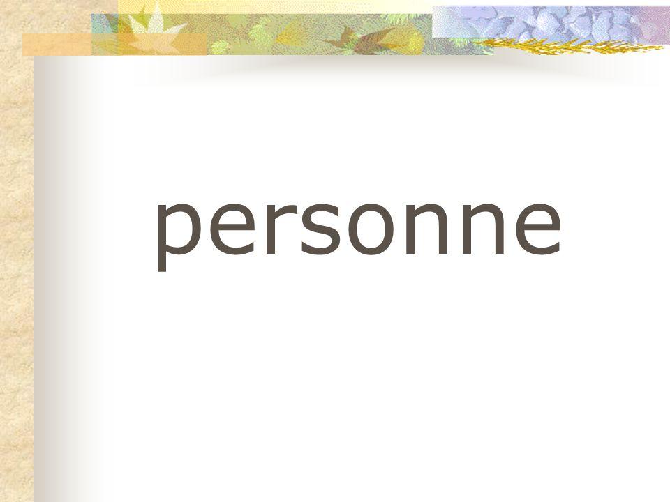 personne
