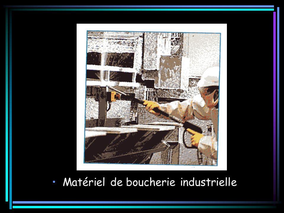 Matériel de boucherie industrielle