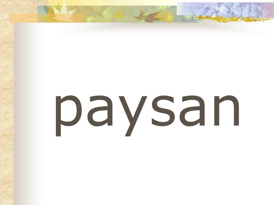 paysan
