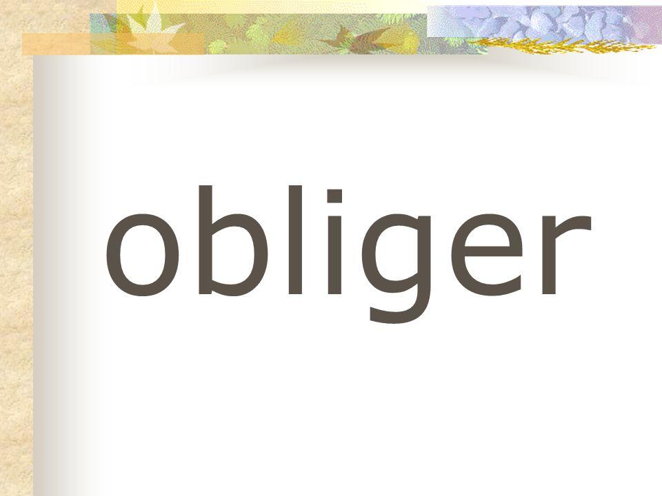 obliger