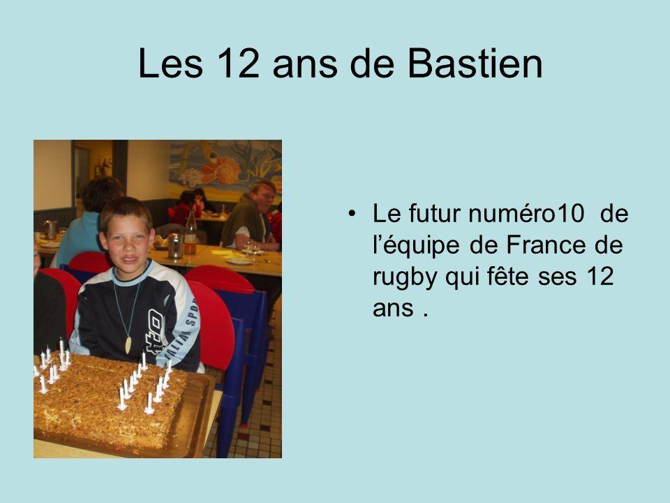 Les 11 ans de Cécile « Quest-ce que ça fait 11 ans hein ?? demande Cécile. -Moi ? -Oui, toi !