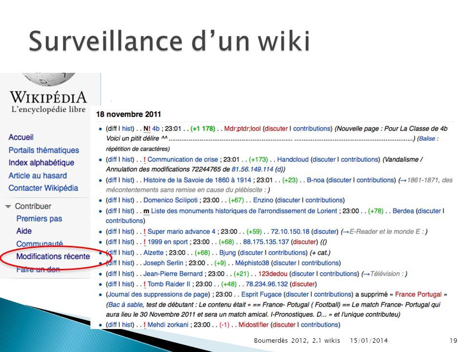 15/01/2014Boumerdès 2012, 2.1 wikis19
