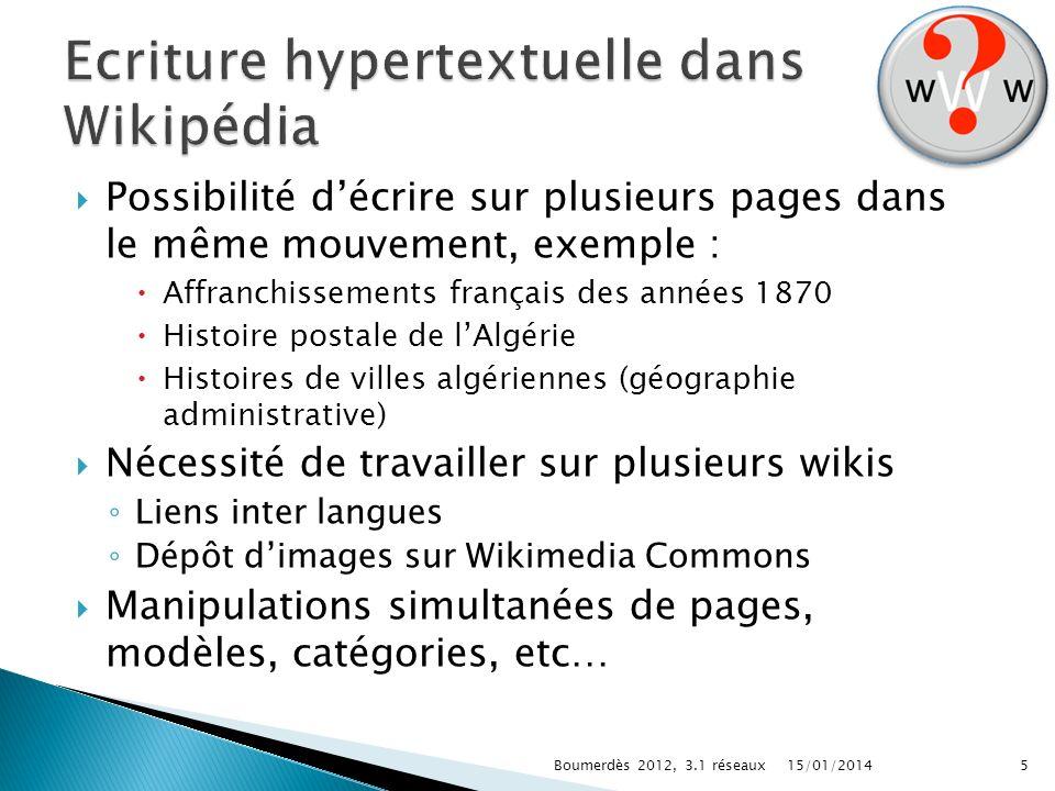 Possibilité décrire sur plusieurs pages dans le même mouvement, exemple : Affranchissements français des années 1870 Histoire postale de lAlgérie Hist