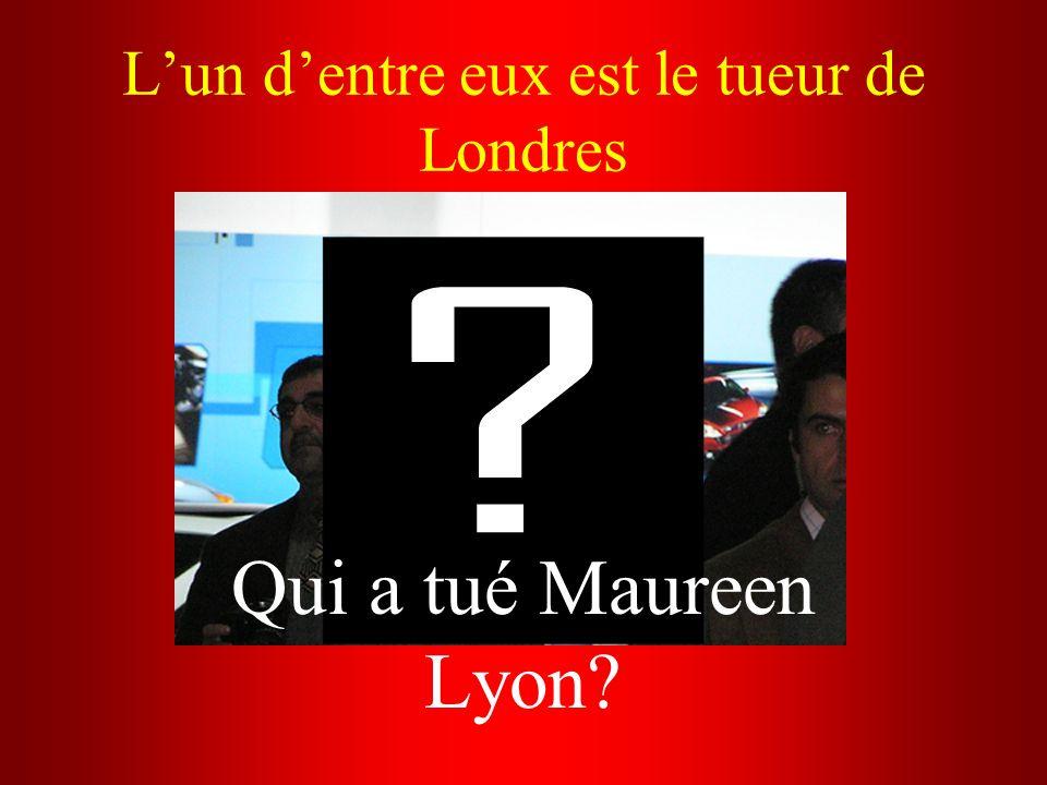 Lun dentre eux est le tueur de Londres Qui a tué Maureen Lyon?