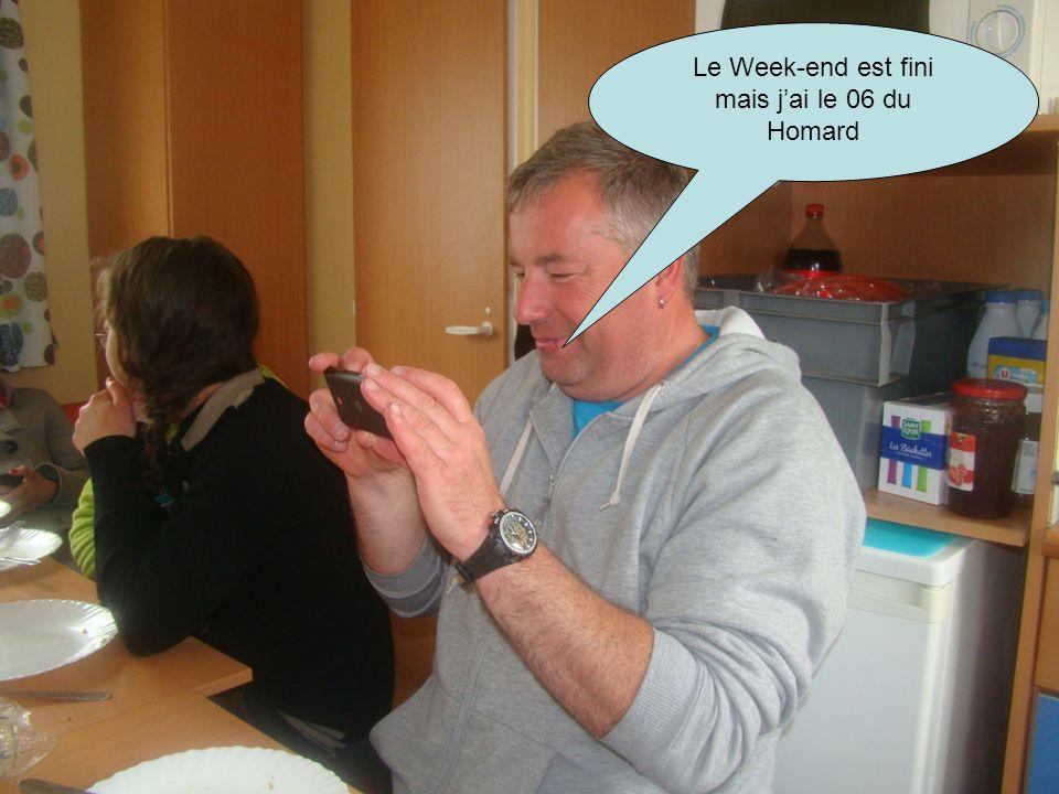 Le Week-end est fini mais jai le 06 du Homard