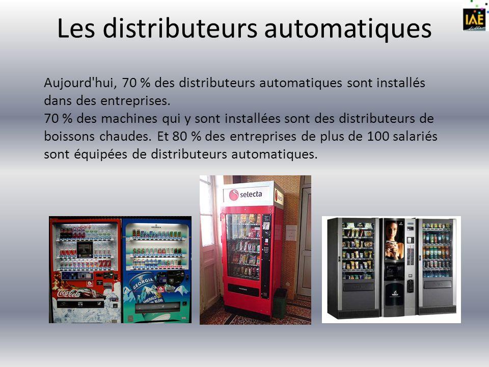 Les acteurs de la Distribution Automatique peuvent être regroupés en 4 catégories : Le fabricant de distributeurs automatiques et accessoires (monétique…) ou ses représentants, appelé constructeur ou fabricant de distributeurs automatiques.