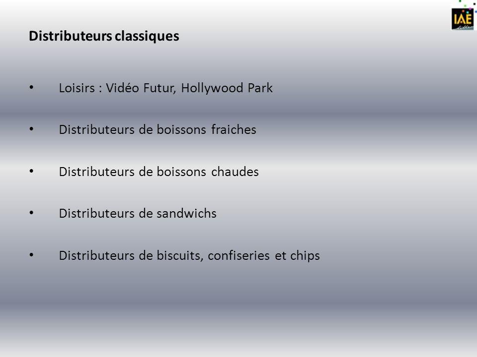 Analyse marketing du format Produit : Les formats spécifiques aux distributeurs automatiques sont adaptés au consommateur (portion individuelle, bouteille de 33 cl, canette, sachet individuel,…).