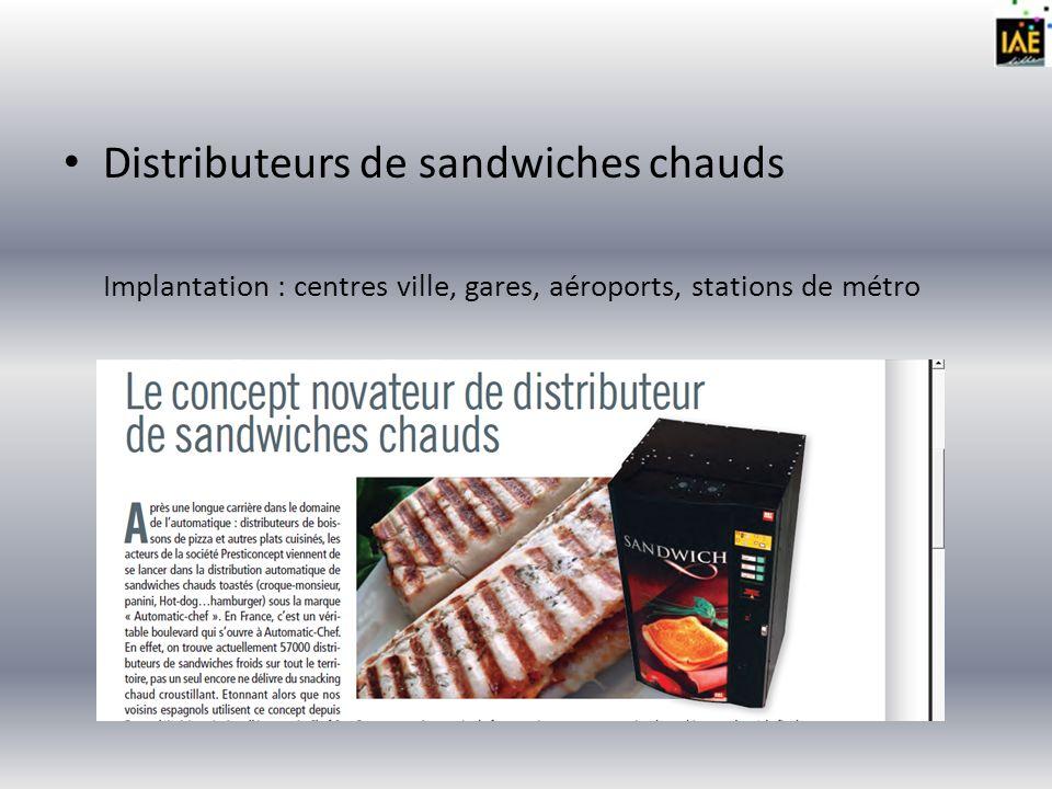 Distributeurs de pains chauds Création dun nouveau concept : CHO PAIN Lidée vient de France et est commercialisée par lentreprise PAC Vending.