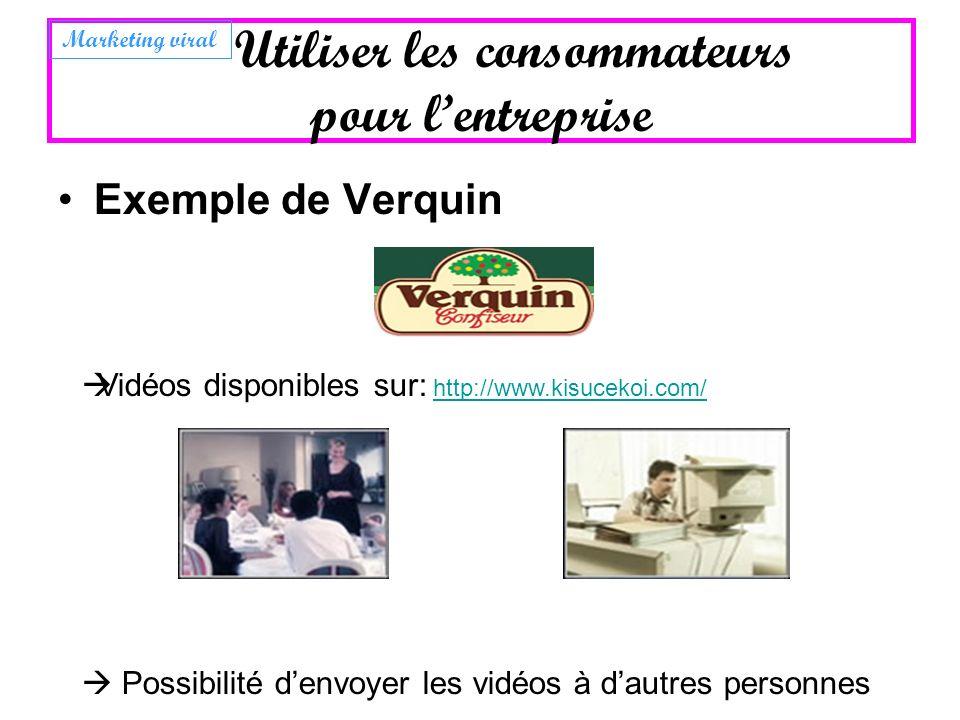 Exemple de Verquin Vidéos disponibles sur: http://www.kisucekoi.com/http://www.kisucekoi.com/ Possibilité denvoyer les vidéos à dautres personnes Util