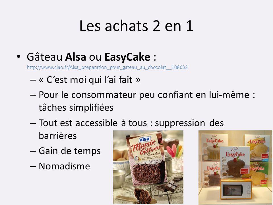 Les achats 2 en 1 Gâteau Alsa ou EasyCake : http://www.ciao.fr/Alsa_preparation_pour_gateau_au_chocolat__108632 – « Cest moi qui lai fait » – Pour le