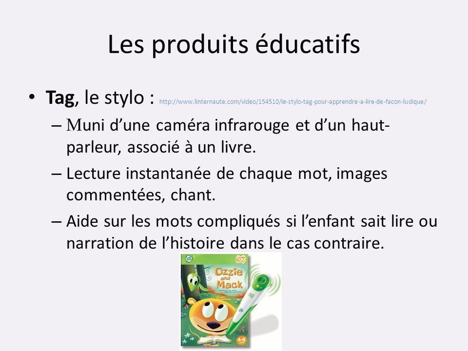Les produits éducatifs Tag, le stylo : http://www.linternaute.com/video/154510/le-stylo-tag-pour-apprendre-a-lire-de-facon-ludique/ – M uni dune camér