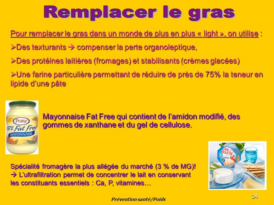 34 Mayonnaise Fat Free qui contient de lamidon modifié, des gommes de xanthane et du gel de cellulose. Pour remplacer le gras dans un monde de plus en