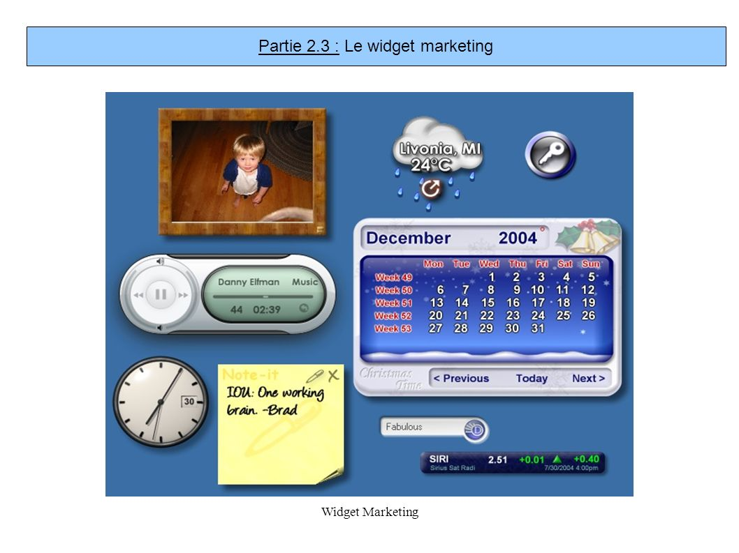Widget Marketing Partie 2.3 : Le widget marketing